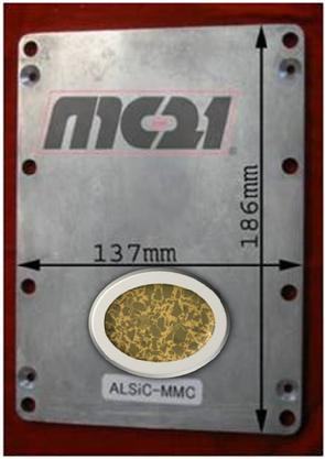 IGBT baseplate plate thermal spreader low CTE ppm